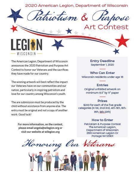 American Legion Art Contest
