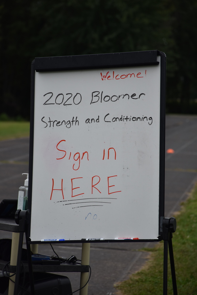 Bloomer Strength and Conditioning Program